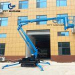 all terrain Self-Propelled Crawler Boom Lift新