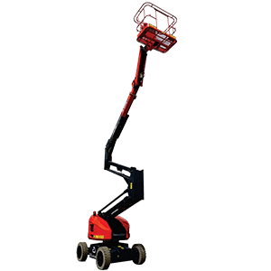 self-propelled articulated boom lift